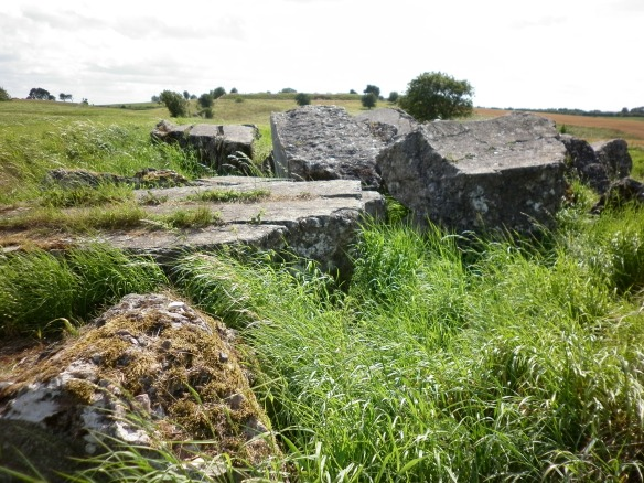 The Danish Army's defences were left in ruins