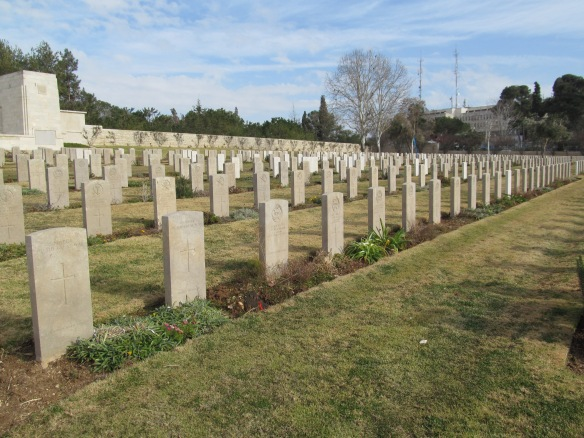 The British and Commonwealth War Cemetery, Jerusalem
