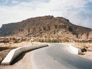 On the road in Yemen, summer 2001 ©James Rodgers