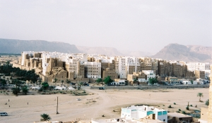The mud towers of Shibam, summer 2001 ©James Rodgers